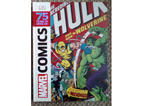 Marvel Comics 75 years of cover art book by DK hard cover