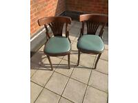 Vintage style chairs x 4