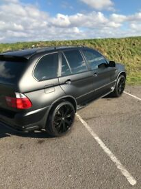BMW X5 Matte Black - 22in Alloys - 79,000 Miles - Excellent Condition