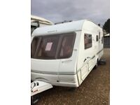 Swift challenger 550 el 2004 4 berth fixed bed