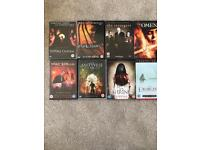 Horror/ Thriller DVD's Jeepers Creepers The Omen The Strangers Amityville Horror