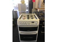 CANNON 60CM ALL GAS COOKER IN WHITE WITH LOD