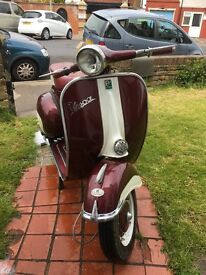 1966 Vespa 125cc prima ,fitted px200cc engine