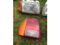 Vw polo headlights / rear lights