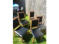 5 dining chairs - fress