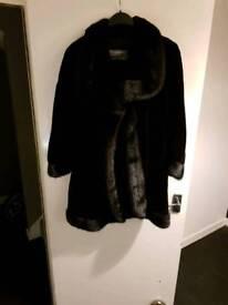 Brand New Vintage Mink YSL Coat excellent condition Size Large