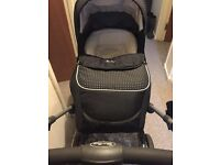 Silver cross pram with car seat