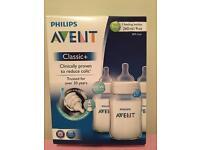 Philips Avent Classic +,3 feeding Bottles, 260 ml/9 oz