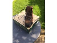 Aigle Altavio Mid GTX Walking Boots (Men's) - Sepia / Black