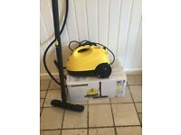 Hardly used floor steam cleaner