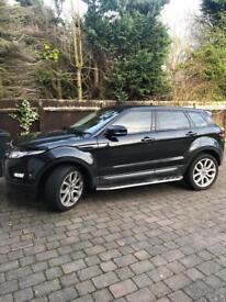 Range Rover evoque fantastic car very reliable dealer serviced