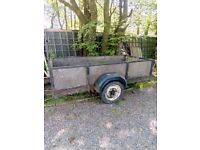 Trailer for sale 264×134 cm. Strong built works well use for house move not needed now £150