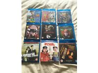 9 Blu-Rays, Excellent Condition, Job Lot