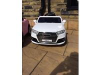 Audi Q7 ride on car