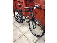 """Men's Carrera Parva bicycle for sale . Size 20"""". Mint condition !!!"""
