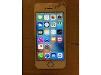 Iphone 5S,16GB,Vodafone/Lebara Network,Gold Colour,With Warranty