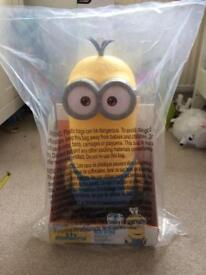 Minion Large Kevin with Storage area BRAND NEW