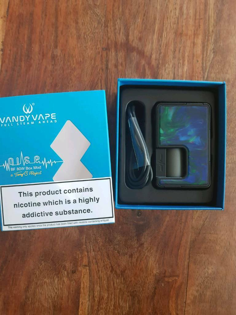 Vandy vape pulse 80w squonk mod | in Granton, Edinburgh | Gumtree