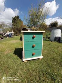 Bedroom side table, sturdy, wardrobe and drawers also available from Kent, offers please