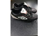Umbro football boots, size 2