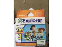 Leapfrog game Toy Story