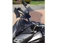 Givi D2122S screen for Yamaha MT 09 Tracer