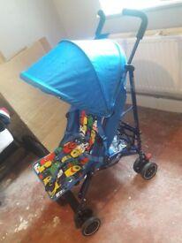 Monster print nanu stroller