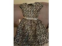 Beautiful Girls Dress Age 9-10 M&Co
