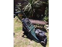 Atco Petrol Lawnmower With Rear Roller