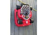 Racing car walker