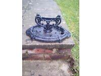 Cast Iron Door Step Shoe Scraper