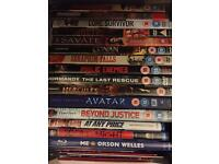 DVD Blu ray film bundle Marvel action thriller western
