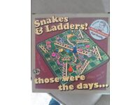 New retro snakes and ladders