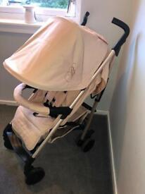 My Babiie MB51 Billie Faiers Blush & Rose Gold Stroller/Pram