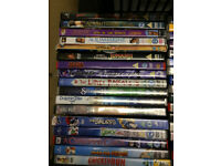 48 x childrens DVDs-PG/U- Madagascar/Ice Age/ Happy Feet/Chicken run etc