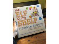 Elf on a shelf birthday tradition
