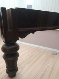 Antique mahogany legs x8