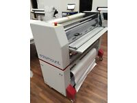 Easymount 1200DH, 1200mm Double-Hot Roller Laminator sign making graphics printing roland