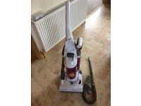 Bagless Electrolux long reach vacuum cleaner 1850 watt.
