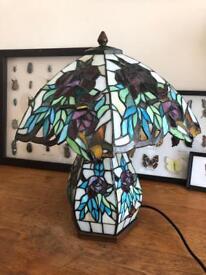 Tiffany style lamp vintage art nouveau