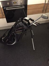 HiPPO Golf clubs with Cleveland bag