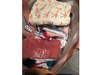 Job lot 3-6 months and 6-9 months baby girl clothes