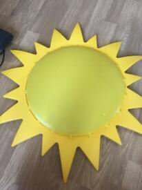 Ikea sun ceiling light