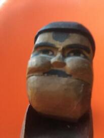Carved wooden Nutcracker