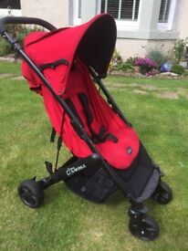 Britax B Mobile pushchair red / perfect condition