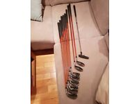 Hippo XXL Set of Irons + Hybrid Clubs + Putter + Golf Bag