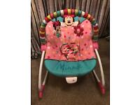 Minnie Mouse rocker chair