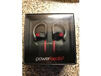 Dr Dre Powerbeats 2 limited edition black and red earphones. £70 Ono