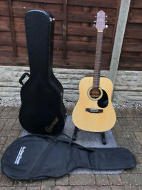 Crafter Silver Series HD-24/NT Acoustic Guitar