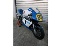 Suzuki sv650 track race bike stock twin production twin